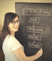 Online-Marketing Strategie Tafel