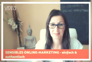 Video sensibles Online-Marketing